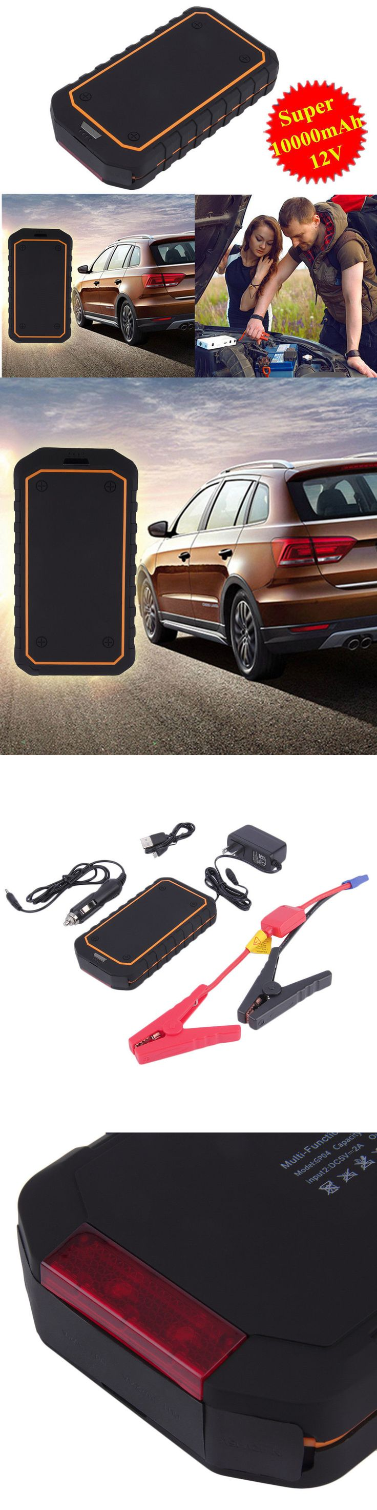 Multipurpose ac to dc adapters 100000mah portable car auto jump starter battery charger power bank