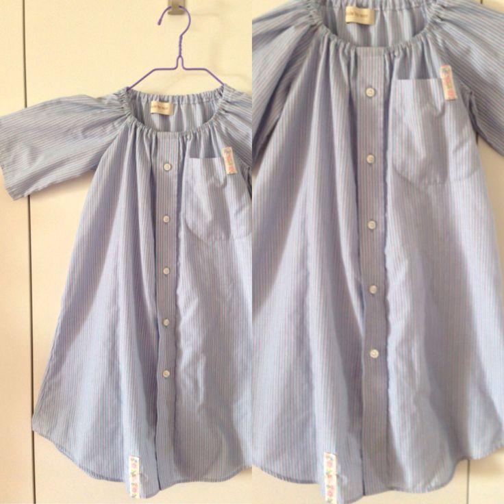 Fars skjorte til sød sommer kjole