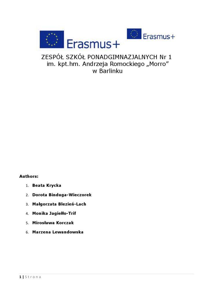 International program of extracurricular activities erasmus en