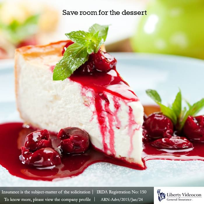 Always keep in mind, the extra scoop of dessert may result in overeating and affect your diet plan #NoExcuses