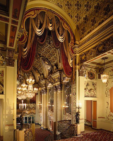 Los Angeles Theater Egyptian Interior | Lobby Entry, Los Angeles Theatre, Los Angeles, California, 1992