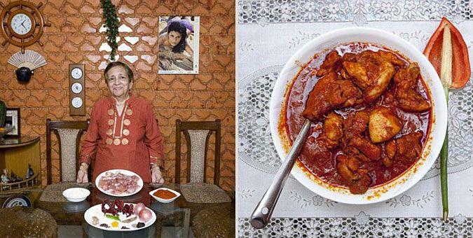 Φωτο-ταξίδι γεύσεων σε όλο τον κόσμο με σεφ... γιαγιάδες!  Ινδία, Κοτόπουλο Vindaloo (ιδιαίτερα καυτερό κοτόπουλο με πολλά μπαχαρικά)