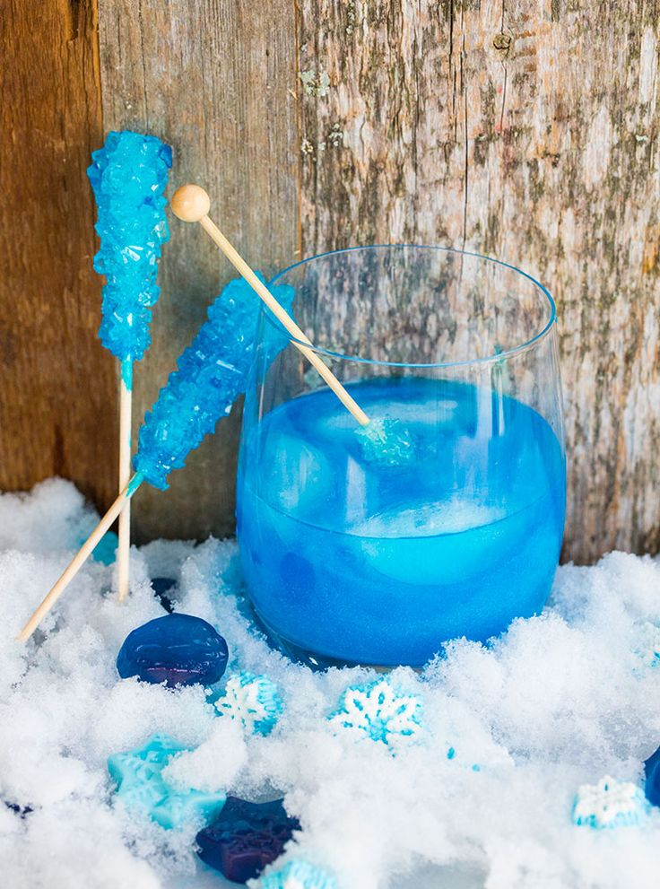 Try this stunning swedish polar bear cocktail recipe with a snowflake for garnish and you are sure to impress at your next gathering.