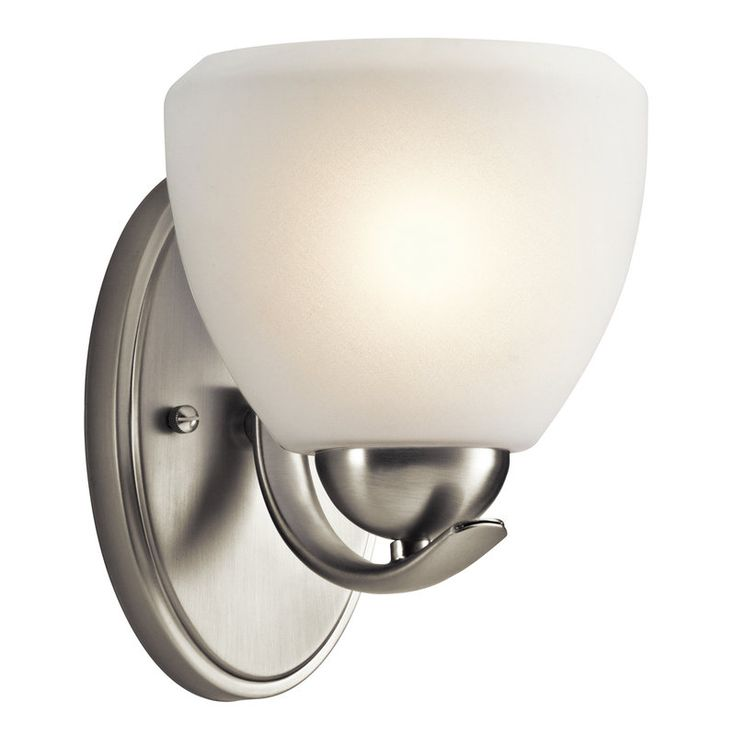 View the Kichler 45117 Calleigh 6\  Wide Single-Bulb Bathroom Lighting Fixture at LightingDirect  sc 1 st  Pinterest & 29 best Derrick Street Bathroom images on Pinterest | Bathrooms ...