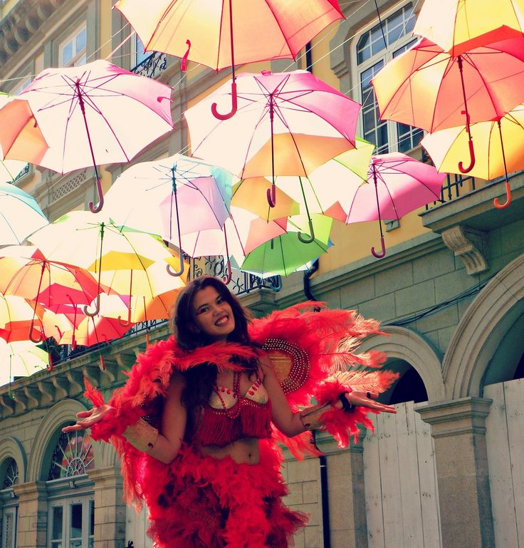 24 best bazaar images on pinterest umbrellas pretty pictures and colorful floating umbrellas above a street in agueda portugal gumiabroncs Images