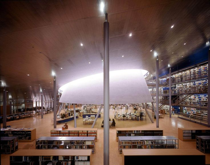 Library Delft University Of Technology Netherlands Mecanoo Architects