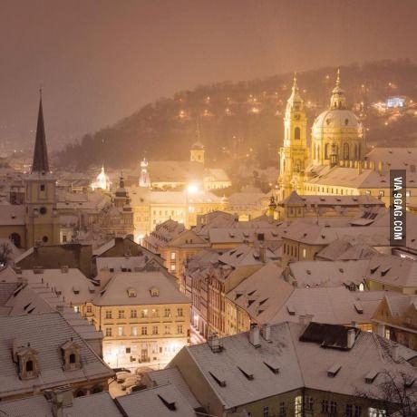 Winter in Prague!