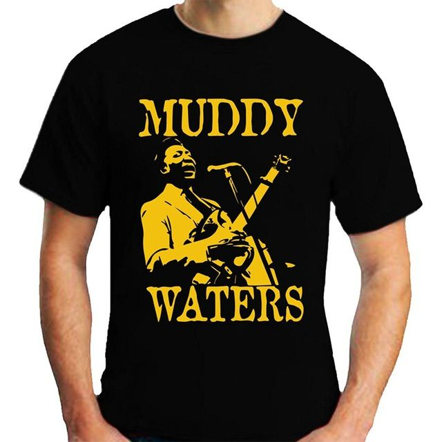 2017 New Fashion Brand Clothing T Shirts O-Neck Tops Breathable Short Sleeve Hip Hop Tee T Shirt Muddy Waters T-Shirt
