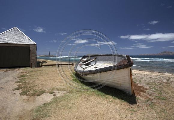 Norfolk Island beach, South Pacific.