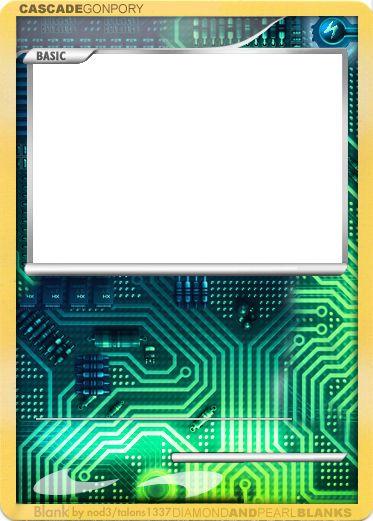 Pix For Gt Blank Pokemon Card Template Pokemon