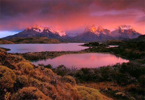 トーレス・デル・パイネ国立公園(チリ)