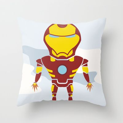 Tony's Flight Throw Pillow