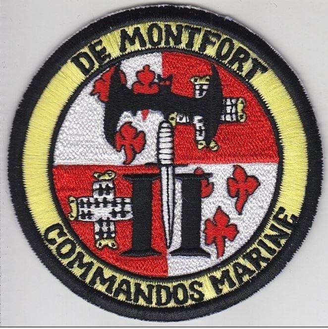 France Navy Commando de Montfort 2nd Group Marine Francaise CDO de Montfort Groupe II
