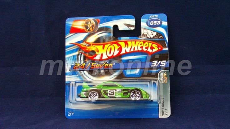 HOTWHEELS 2006 DRIFT KINGS | 24 SEVEN | 3/5 | 053-2006 | J3379