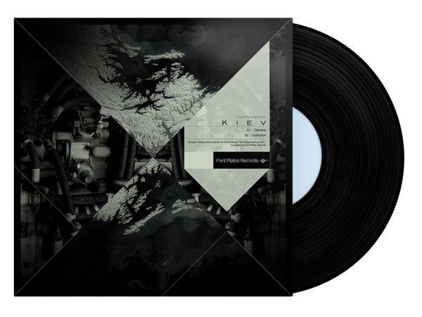 Kiev EP - Art Cover Fentplates Records UK
