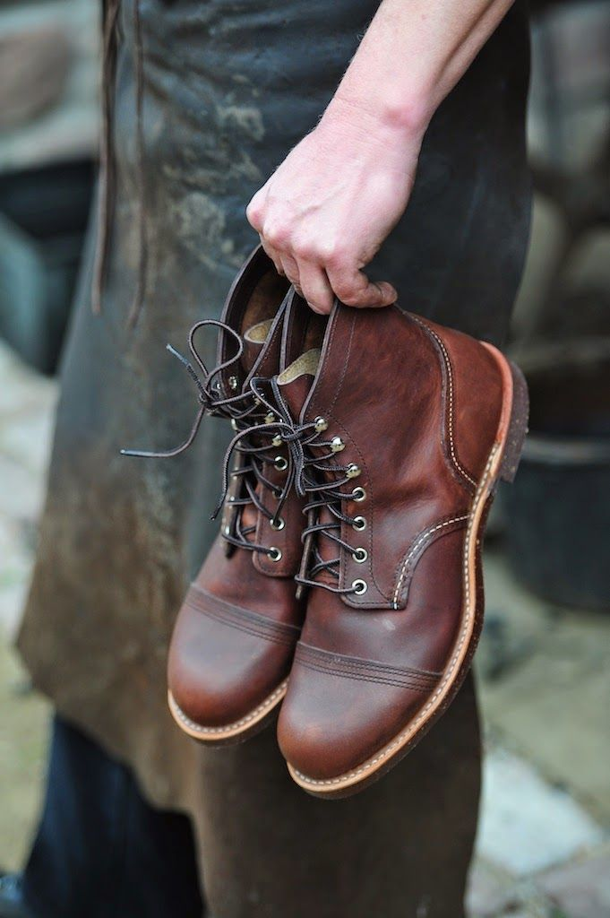 It's all about the Redwing Iron Rangers. These look like they've been oiled up nicely.