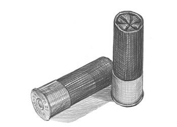 How to Draw a Shotgun  | Shotgun Shells