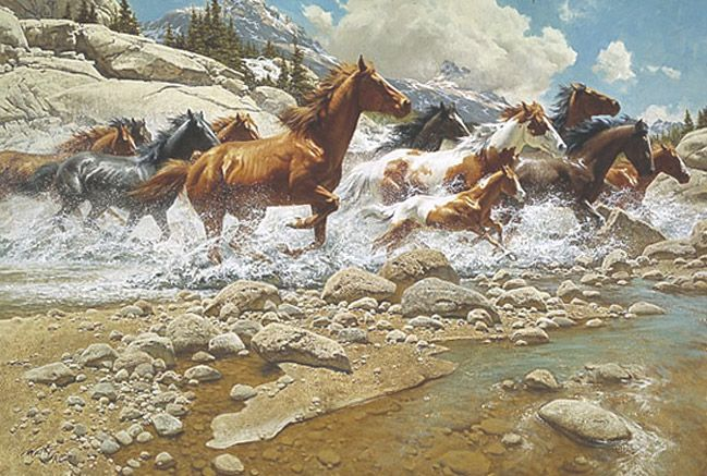 Illustration/Painting by Frank McCarthy