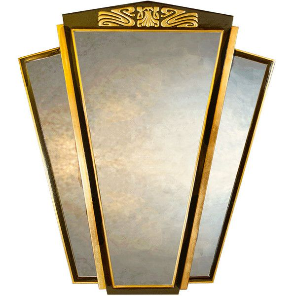 Art Deco Wall Mirror 231 best art deco mirrors images on pinterest | art deco mirror