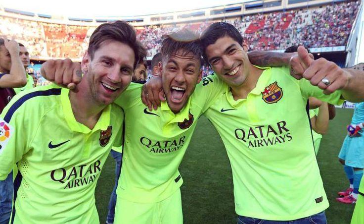 Así se gestó la gran amistad que hoy tienen Messi, Neymar y Suárez - Messi, Neymar y Luis Suárez son el tridente de moda dentro de la cancha, aunque Messi hoy esté pasando una etapa de recuperación por una lesión, l...