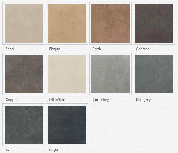 Marvelous rak surface tegels kleuren