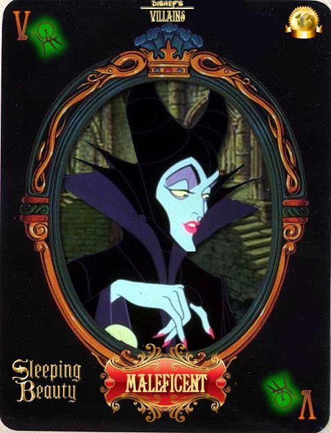 DV Card 13: Maleficent by Maleficent84.deviantart.com on @deviantART