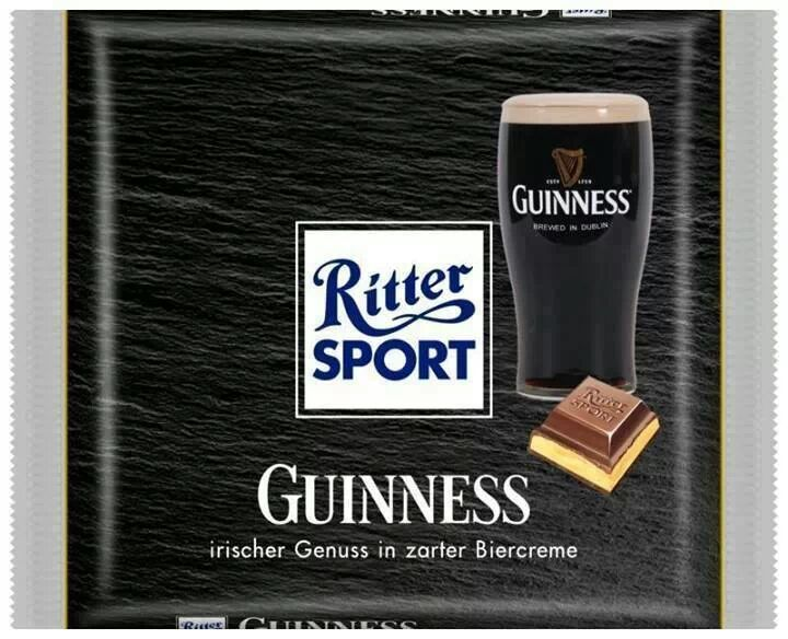 Ritter Sport Guinness