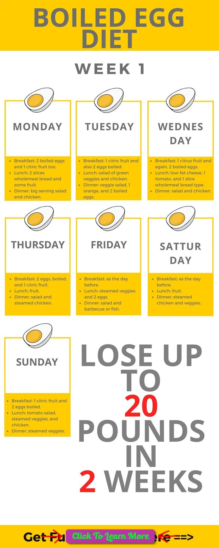 According to many experts, in case if you are looking for some fast solution and diet regime for fast weight-loss results, boiled egg are the best choice. #health #fitness #weightloss #healthyrecipes #weightlossrecipes
