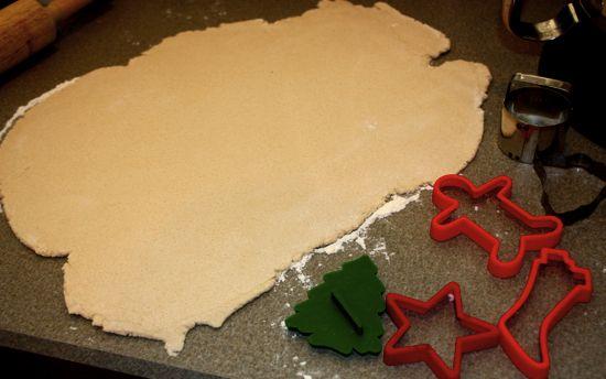 Salt dough ornaments (basic instructions)
