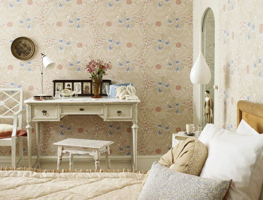Engelska Tapetmagasinet - Larkspur William Morris tapet Archive Wallpapers II