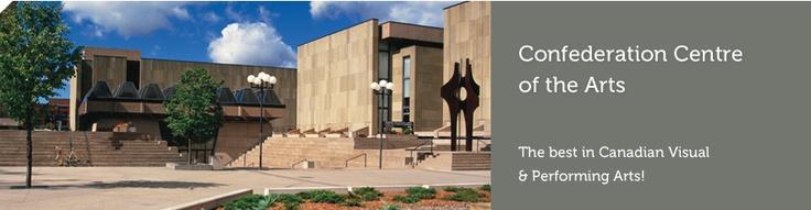 Confederation Centre of the Arts, Charlottetown, PEI