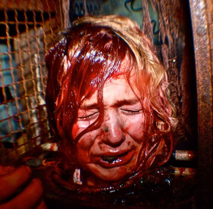 The world's scariest haunted house lasts for five hours and covers you in blood.