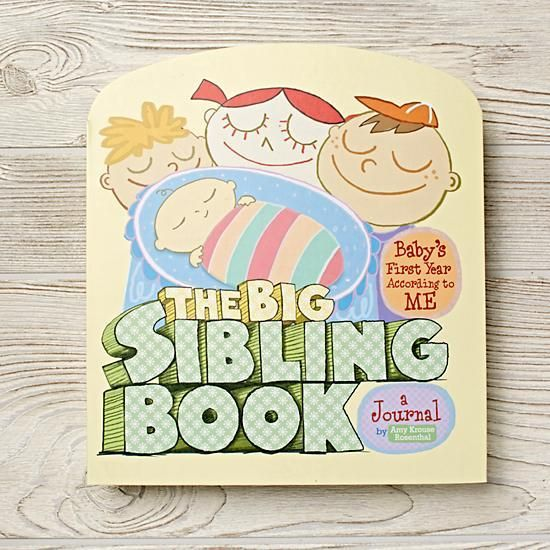 BIG NEWS—your family is growing, and it's time to get your firstborn psyched about becoming a big sibling! Organized chronologically, The Big Sibling Book is designed to help prepare your child for the new arrival with interviews, sticker activities, and pages for recording baby's first. The end result is a precious two-in-one keepsake that captures baby's first year and the unique perspective of the new big kid in the family.