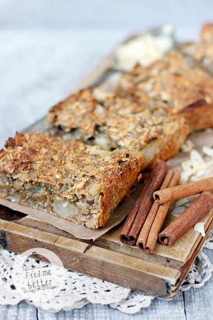 Dietetyczne batoniki śniadaniowe - przepis