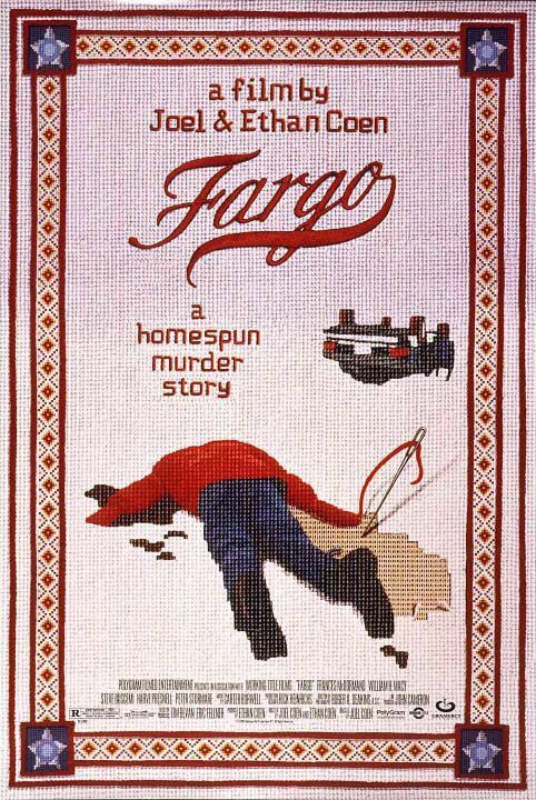Fargo (1996) Rating: 8.2/10 Directed and Written by Joel Coen & Ethan Coen Log-Line: Jerry Lundegaard's inept crime falls apart due to his and his henchmen's bungling and the persistent police work of the quite pregnant Marge Gunderson.