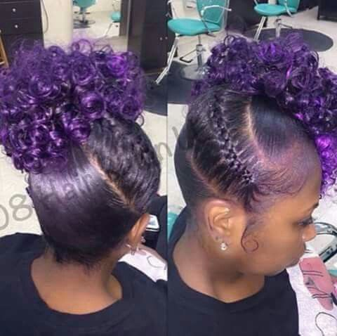 Cute and purple