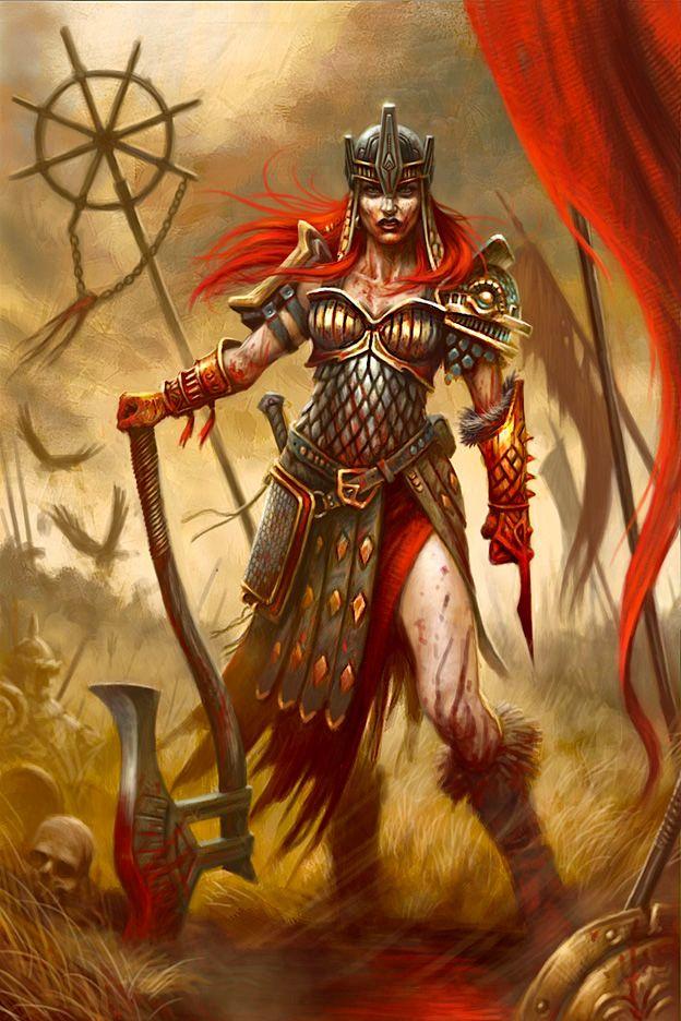 30 best images about warrior women fantasy on pinterest - Fantasy female warrior artwork ...