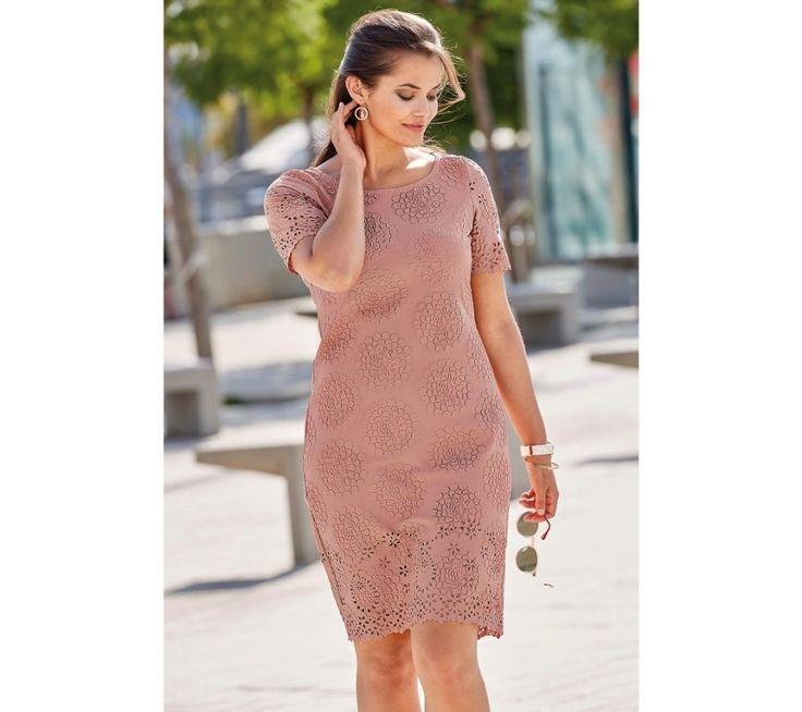 Šaty s krátkými rukávy | blancheporte.cz #blancheporte #blancheporteSK #blancheporte_sk #dress #saty