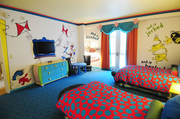 Hotel Room Tour Dr Seuss Kids Suites At Portofino Bay