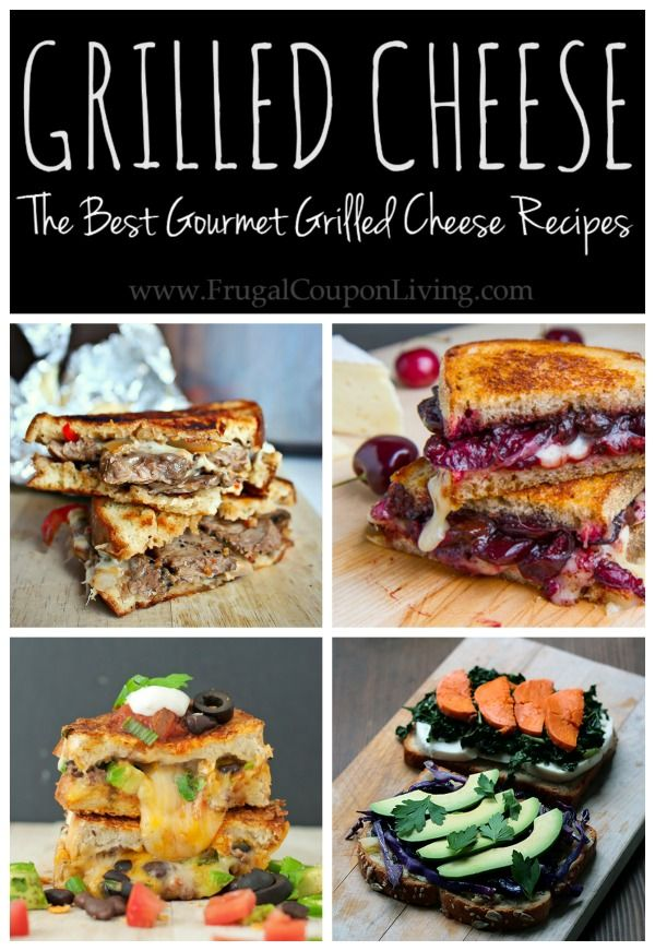 Amazing Grrilled Cheese Recipes - The Best Gourmet Grilled Cheese Recipes on the web!