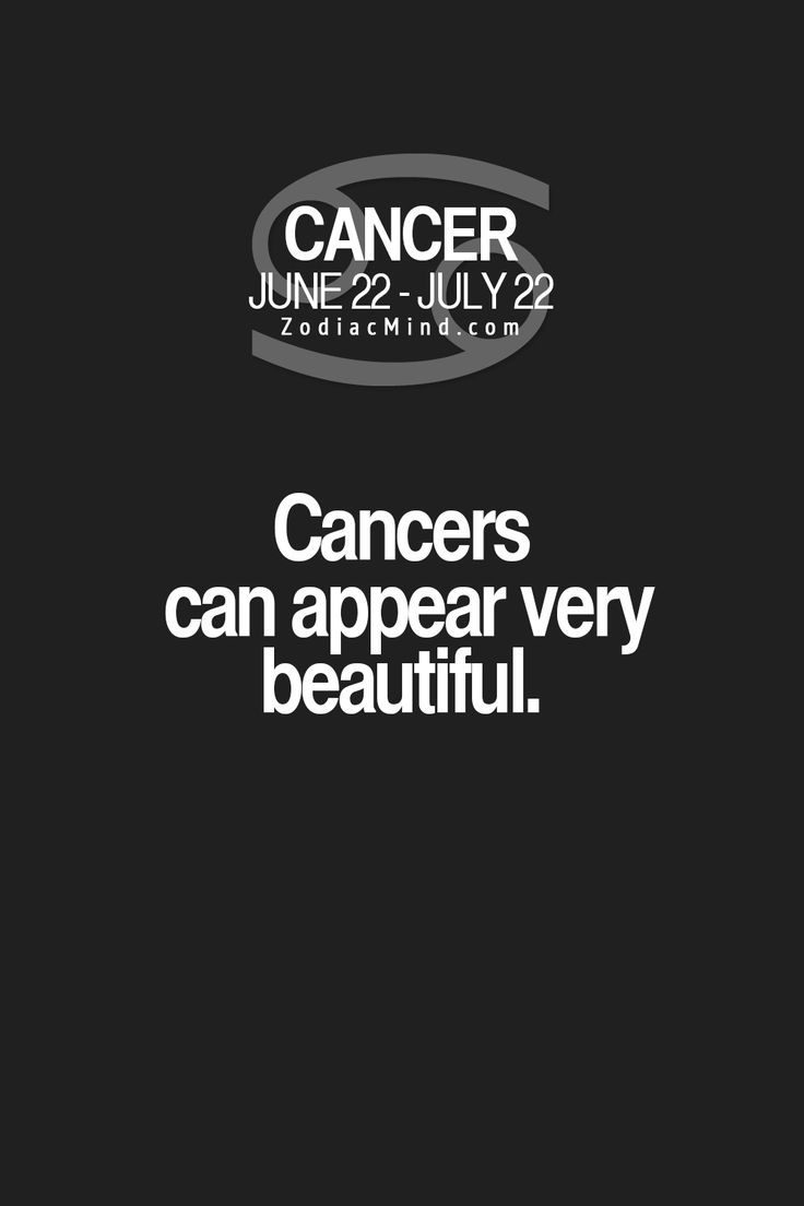 Zodiac Signs Cancer Facts