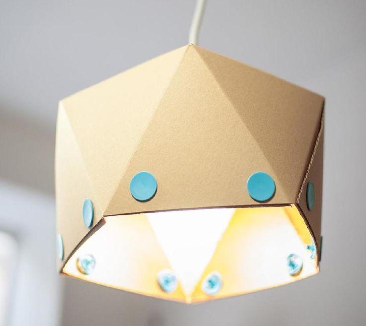 DIY paper lamp-shell Pin magazin 2014 autumn - No. 9
