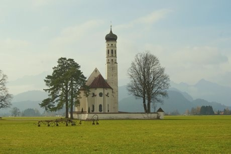 I want to live in a house with a crazy oversized tower with no neighbours! ....so now I have to move to Bavaria