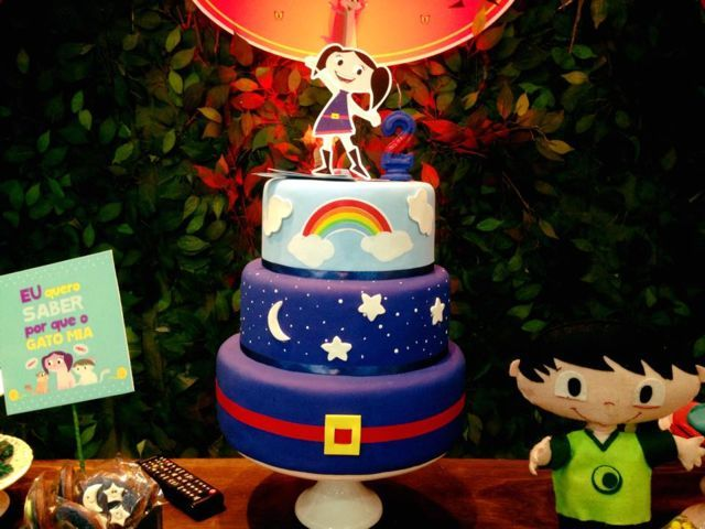 Decoração Temática: Show da Luna | Decoração de Festas - (11) 3384-8308