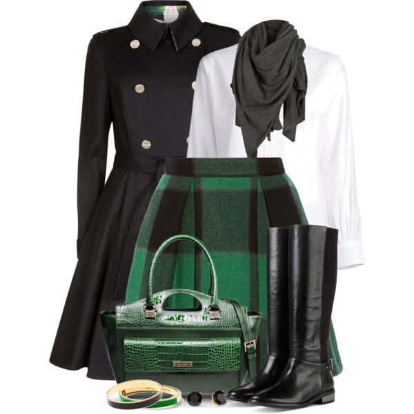 Short Skirt & Tall Boots, created by brendariley-1 on Polyvore