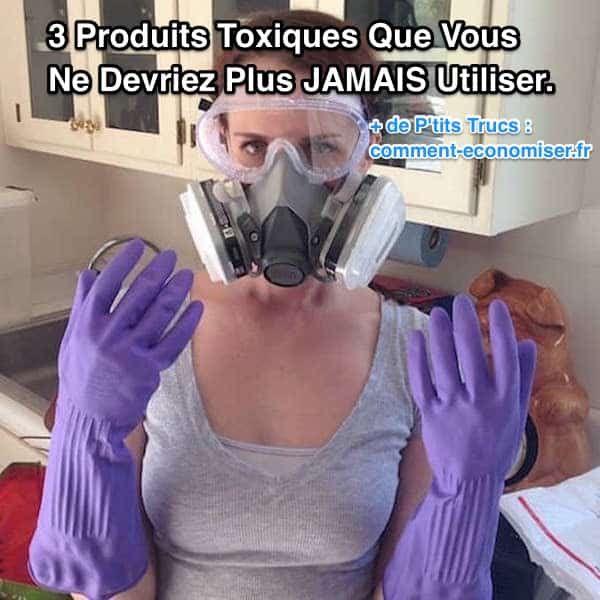 Malheureusement, beaucoup de produits du commerce que l'on utilise aveuglement sont bourrés de substances toxiques. Découvrez les 3 produits toxiques du commerce à éviter — et les 3 recettes simples et naturelles pour les remplacer.  Découvrez l'astuce ici : http://www.comment-economiser.fr/3-produits-toxiques-que-vous-ne-devriez-plus-jamais-utiliser.html?utm_content=buffere64a8&utm_medium=social&utm_source=pinterest.com&utm_campaign=buffer