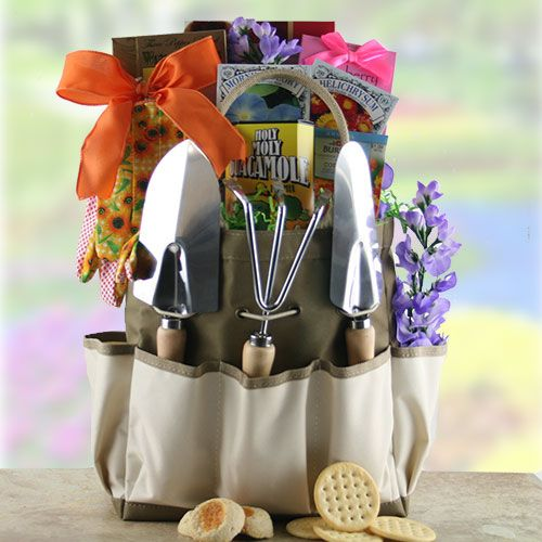 1000 images about birthday gift baskets for her on for Gardening tools gift basket