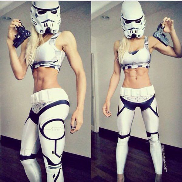 DIY Stormtrooper Star Wars Costume   Your Costume Idea for Halloween, Mardi Gras and Carnival