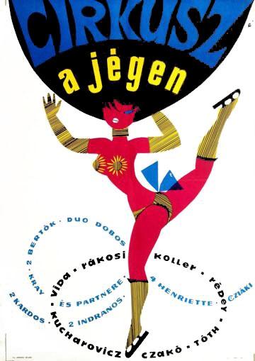 Cirkusz a jégen (Circus on Ice)  Hungary   1966 poster