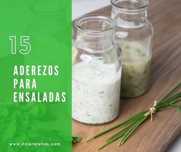 15 aderezos de ensalada